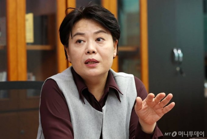 윤희숙 국민의힘 의원 인터뷰 /사진=김휘선 기자 hwijpg@