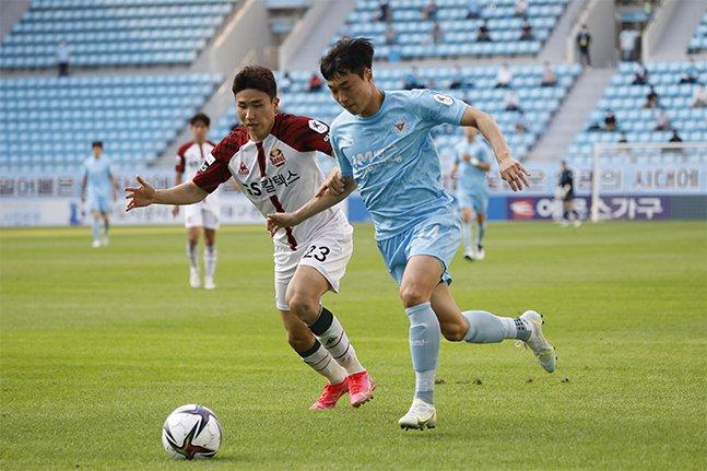 지난 AFC 챔피언스리그 조별리그에서 2골 4도움의 맹활약을 펼쳤던 대구FC 안용우. /사진=대구FC