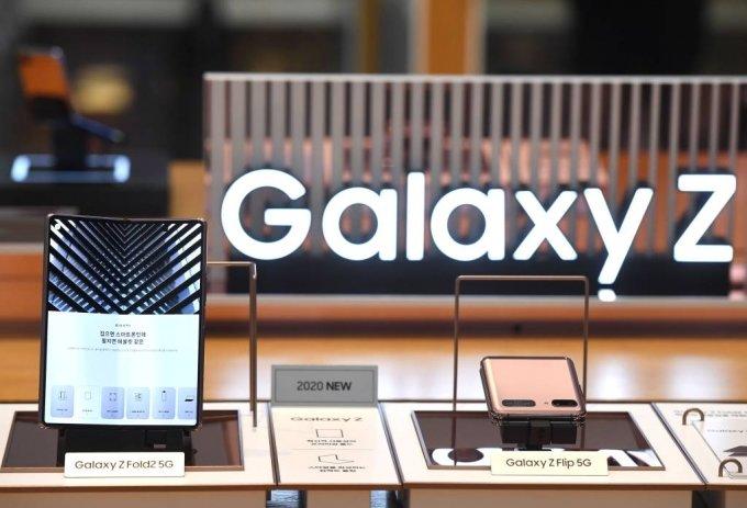 삼성전자 폴더블폰 갤럭시Z 폴드2와 갤럭시Z 플립 5G /사진=머니S