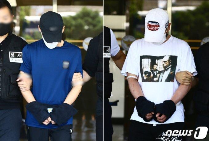 백광석(48.왼쪽)과 김시남(46)./사진=뉴스1