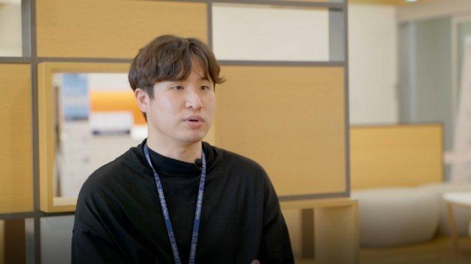 삼성전자 DS부문 환경팀 박상준씨./사진제공=삼성전자