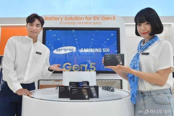 9~11일 서울 삼성동 코엑스에서 열린 '인터배터리 20201'에 삼성SDI가 참여해 배터리 신기술을 대거 선보였다