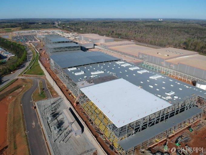 SK이노베이션 미국 조지아 배터리 공장