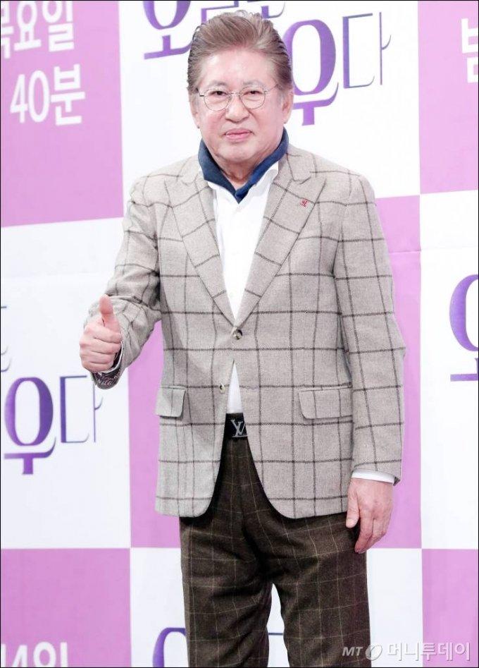 배우 김용건 /사진=김창현 기자 chmt@