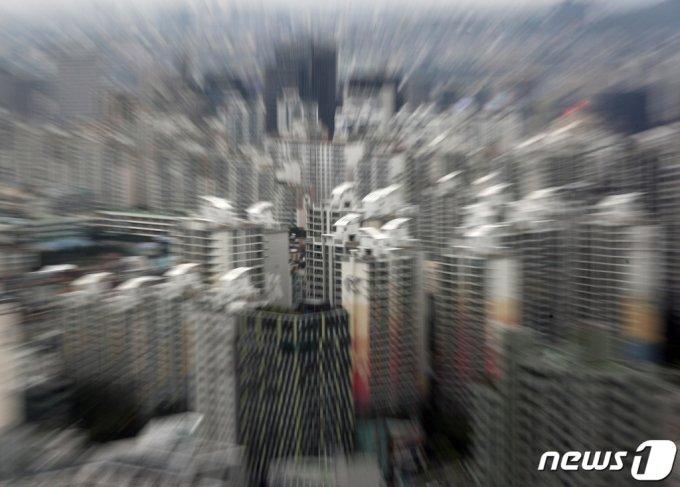 사진은 이날 서울 아파트 단지의 모습/사진=뉴스1