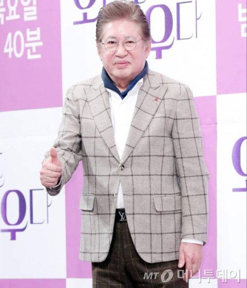 배우 김용건/사진=김창현 기자