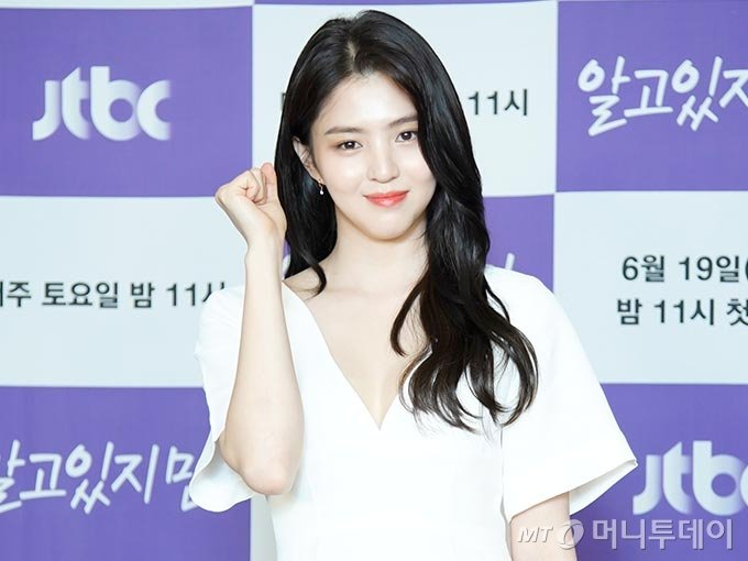 배우 한소희/사진제공=JTBC