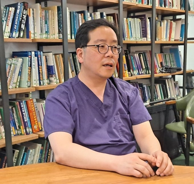 천영훈 인천 참사랑병원 원장(51)/사진=홍순빈 기자
