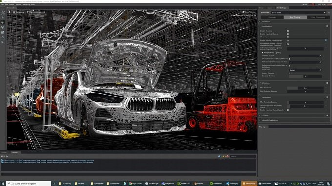 BMW가 가상 공장 구축을 위해 엔비디아 옴니버스를 도입했다/사진=엔비디아