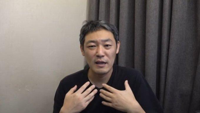 유튜버 김용호 /사진=유튜브 채널 '김용호 연예부장' 영상 캡처