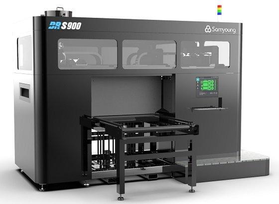 삼영기계의 샌드 3D프린터 'BR-S900' /사진제공=삼영기계