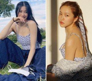 티파니 영 vs 예리, 뒤태 드러낸 수영복 패션…같은 옷 다른 느낌