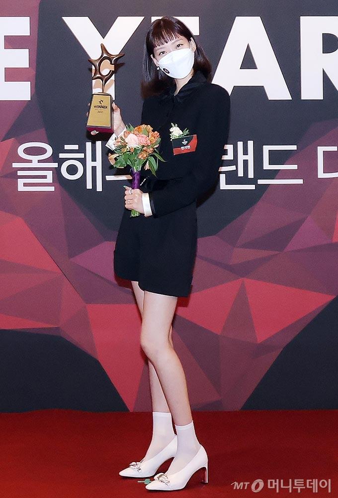 배우 한지현/사진=한국소비자포럼