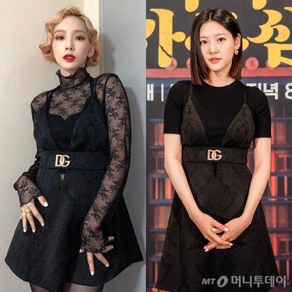 """태연 vs 김새론, '235만원' 같은 드레스 다른 느낌…""""어디 거?"""""""