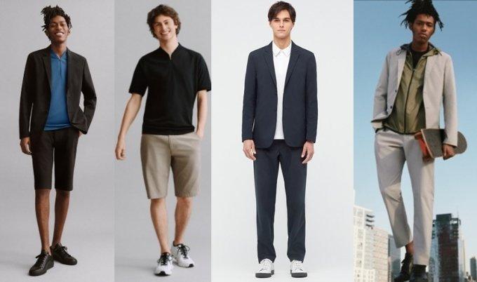 유니클로와 뉴욕 브랜드 띠어리의 협업 제품 이미지/사진=유니클로 공식 홈페이지