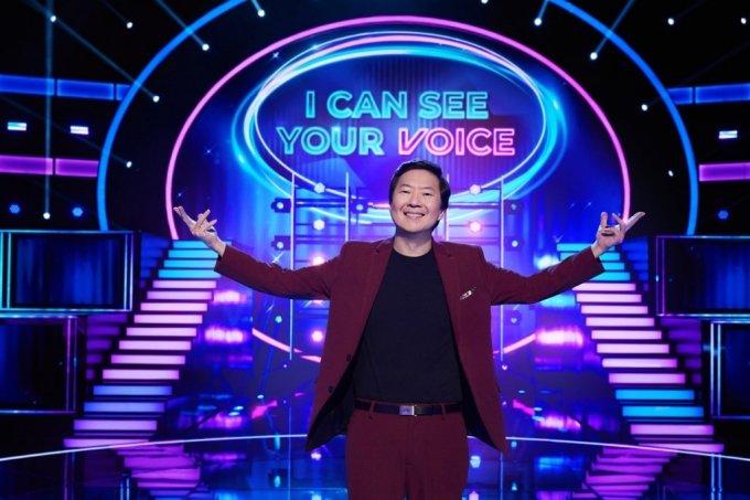 미국 폭스TV에서 방영 중인 '너의 목소리가 보여' 미국판. 한국계 배우 켄 정이 진행한다. /사진제공=CJ ENM