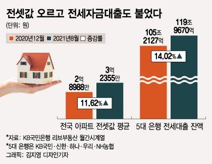 """""""전세가격 올라 대출 늘었는데…집값 상승 주범이라니요"""""""