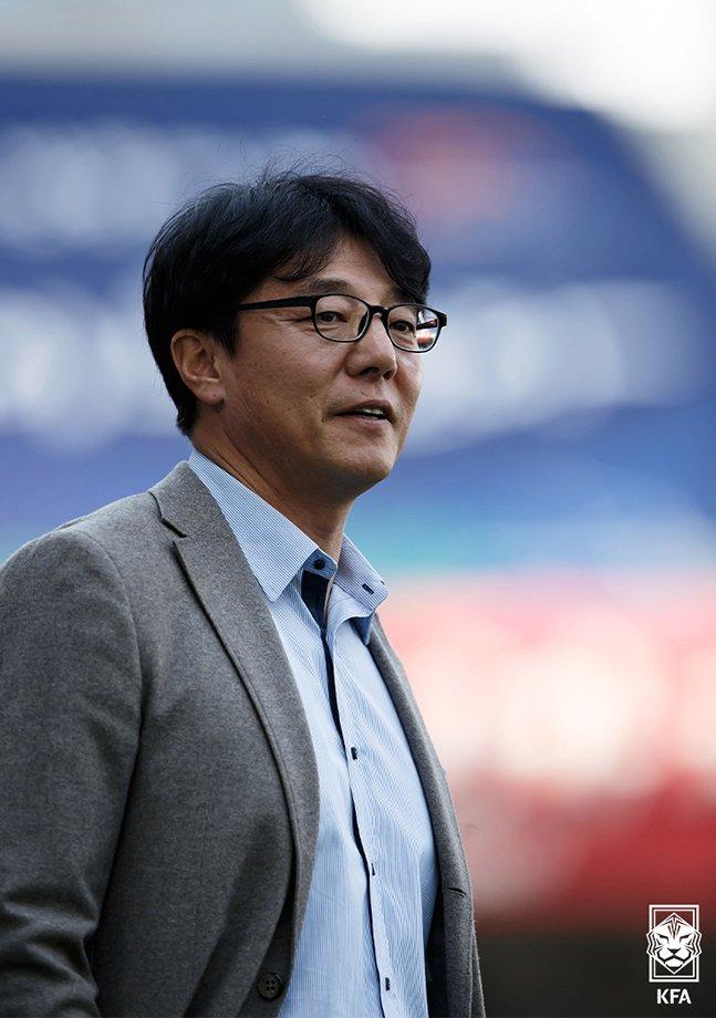 황선홍 U-23 대표팀 신임 감독. /사진=대한축구협회