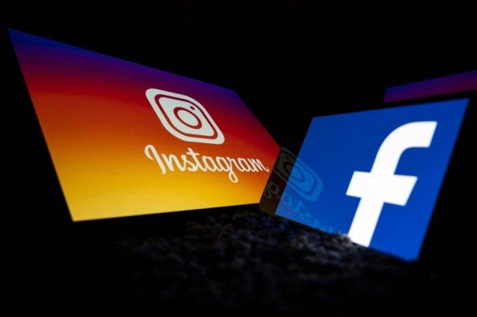 페이스북과 자회사 인스타그램 이미지 /사진=AFP통신