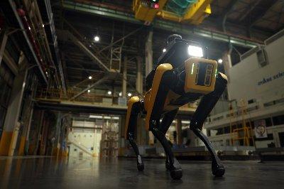 공장 안전 서비스 로봇/사진제공=현대차그룹