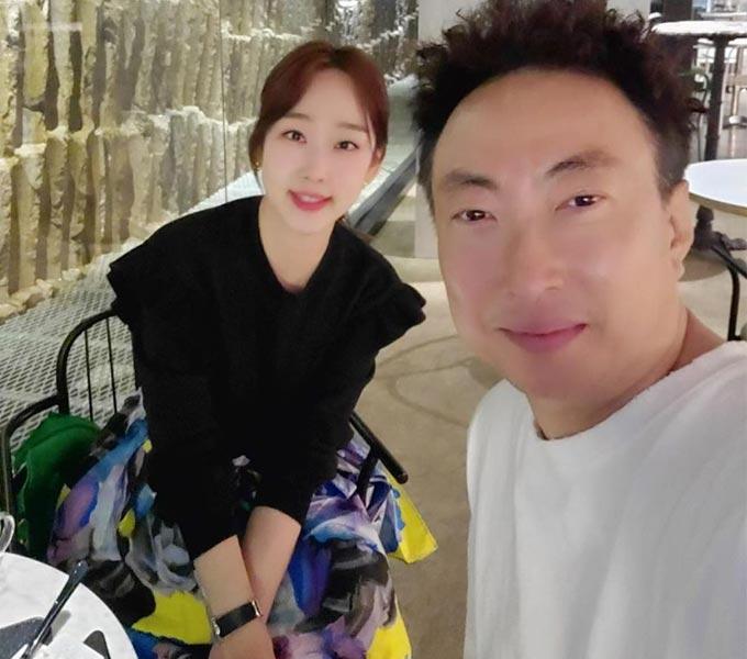 개그맨 박명수, 그의 아내 피부과 의사 한수민/사진=한수민 인스타그램
