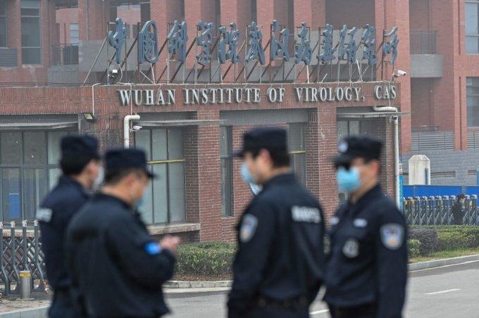 지난 2월 중국 우한연구소 전경/사진=AFP통신