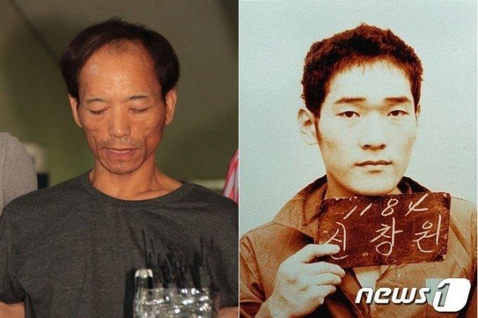 최갑복(59)과 신창원(54)의 과거 모습./사진=뉴스1
