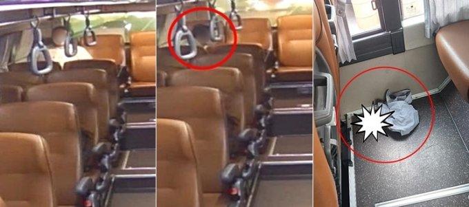 버스기사라고 밝힌 A씨가 지난 24일 운행하던 버스 안에서 60대로 보이는 한 남성이 대변을 누고 갔다며 공개한 사진./사진=온라인 커뮤니티 '보배드림'