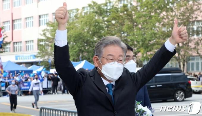 '대장동 의혹' 돌파 '대세론' 계속…호남 선택은 이재명이었다