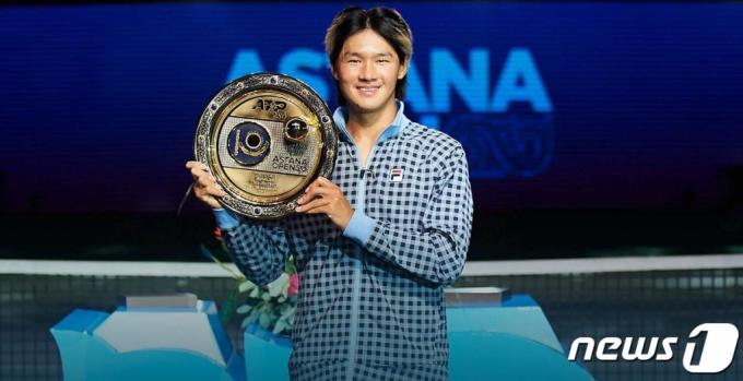 권순우가 해냈다…이형택 이후 18년만에 ATP서 우승