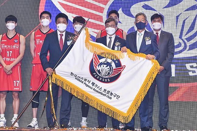 10년 만에 대구에 프로농구단 생겼다... 한국가스공사 공식 창단식