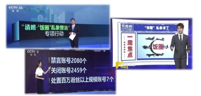 중국 매체에서 팬덤 규제에 대해 보도하는 모습. /사진=한국국제문화교류진흥원 제공