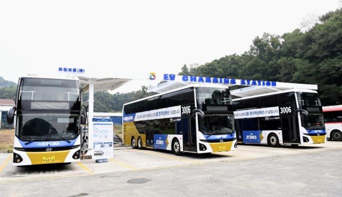 경기도, 공공버스에 친환경 '2층 전기버스' 첫 도입