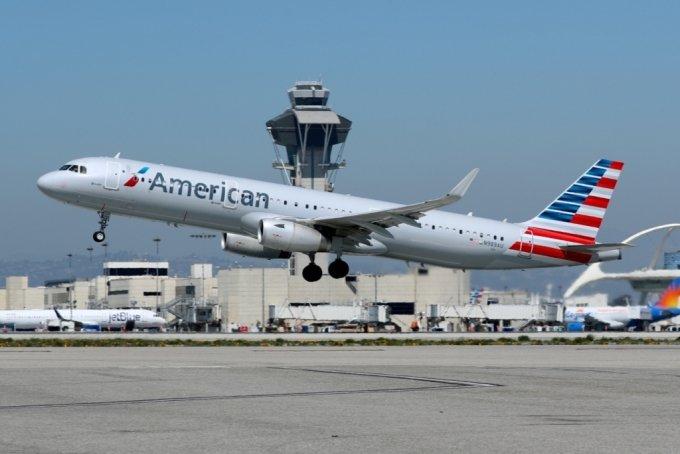 아메리칸항공의 에어버스 A321-200 기종/사진=로이터통신