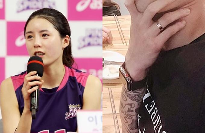 배구선수 이다영, 이다영 남편 /사진=뉴스1, 온라인 커뮤니티 (이다영 남편 과거 인스타그램)