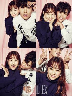 스타 커플 화보 ♥