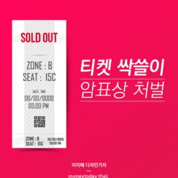 '티켓 싹쓸이' 암표상 처벌