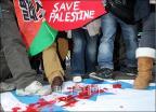 이스라엘은 가자지구 학살 중단하라!
