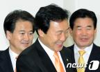 민주당  '12월 통합 결의, 1월 지도부 선출' 합의