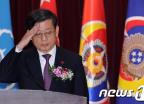 김황식 총리, 안보대학원 졸업식 참석