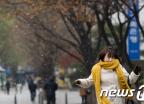 '첫눈 내린 서울 아침'