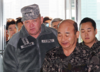 서먼 주한미군사령관, 국방부 방문