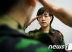 숙명여대 ROTC 선후배 첫 대면