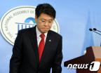 한나라 장제원 의원, 총선 불출마 선언