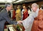 유민봉, 제15대 청와대 불자회 회장 취임