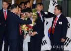국제기능올림픽 선수단, '금의환향'