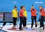 [소치2014]아쉽게 패한 한국 컬링 女대표팀
