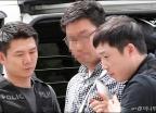 영장실질심사 받는 '김성태 폭행범'