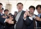 박상범 전 삼성전자서비스 대표 검찰 출석