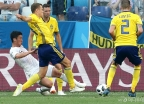 대한민국, 스웨덴에 0 대 1 패